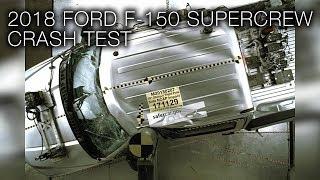 Ford F-150 Supercrew (2018) Side Pole Crash Test