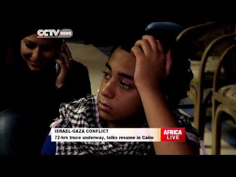 Israel-Gaza 72-hours Truce Underway as Talks Resume in Cairo