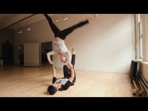 The Perfection of Practice: AcroYoga with Daniel & Kelsey