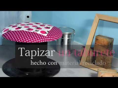 Tutorial: cómo tapizar un taburete
