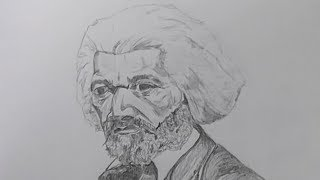 Gambar cover Drawing of Frederick Douglass (took 1 hour 21 minutes)