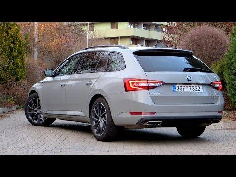 New Skoda Superb Combi Sportline 2 0 Tsi 4x4 Walkaround Youtube