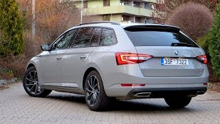 New Škoda Superb Combi Sportline 2,0 TSI 4x4 | Walkaround