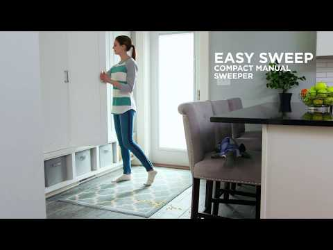 EasySweep® Compact Manual Sweeper Feature Overview