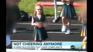 6 Year Old Cheerleader Kicked Off Team
