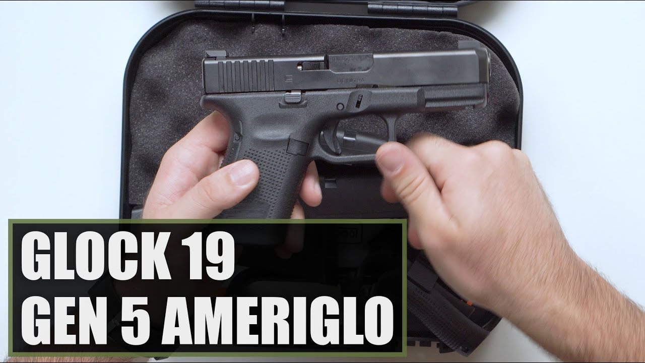 Unboxing the Glock 19 Gen 5 AmeriGlo