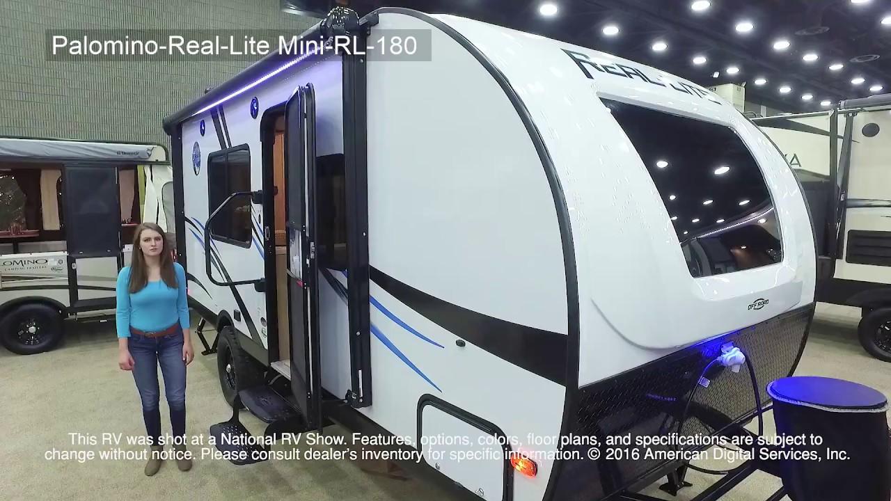 Palomino Real Lite Mini Rl 180 Youtube