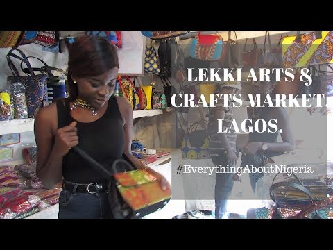 LEKKI ARTS AND CRAFT MARKET LAGOS  (money challenge) | VLOG.