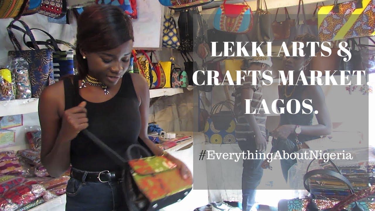LEKKI ARTS AND CRAFT MARKET LAGOS (money challenge)  5c76e587f06e5