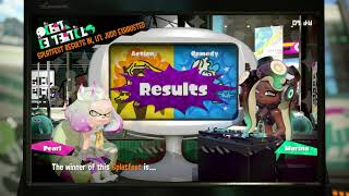 Splatfest - Splatoon 2 - Action Vs Comedy Results