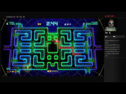 PAC-MAN Shipped Champignons Edition 2 PS4 live streaming. This game is crazy! ;-)