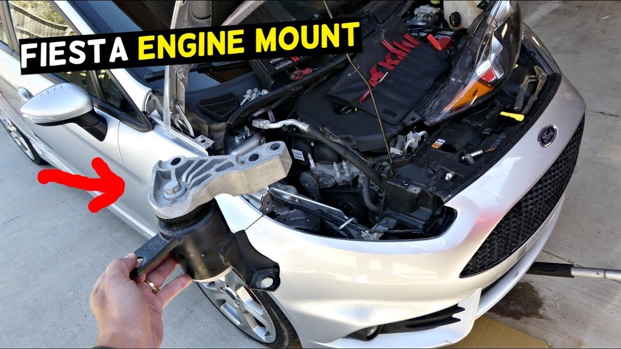 ford fiesta engine mount replacement removal mk7 st [ 1280 x 720 Pixel ]