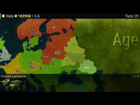 Age of civilization - Italy