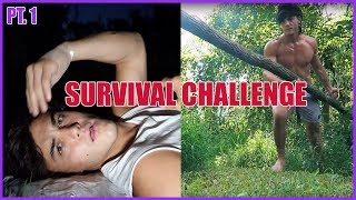 Download 48 HOUR SURVIVAL CHALLENGE PART 1 Mp3 and Videos