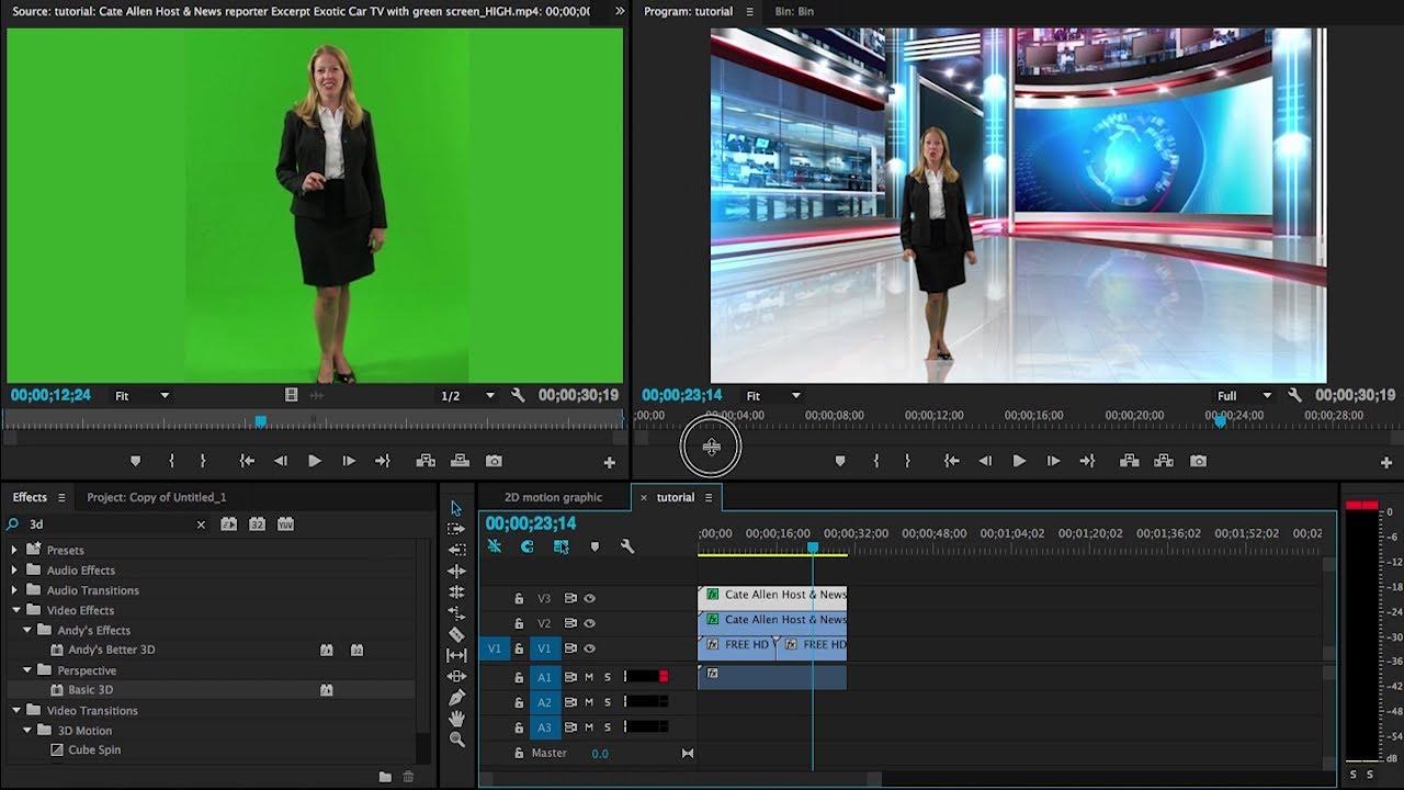 GreenScreen Software – Adobe