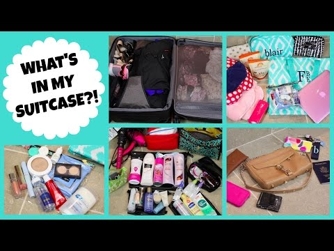WHAT'S IN MY SUITCASE FOR A BEACH VACATION?! | Blair Fowler
