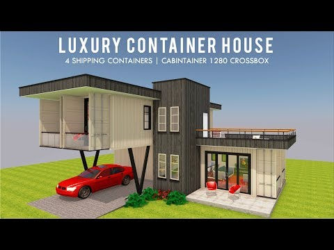 Top 5 Luxury Shipping Container Home Designs + Floor Plans 2019