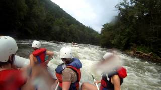 "Ocoee River Whitewater Rafting 9 ""The Washing Machine"""