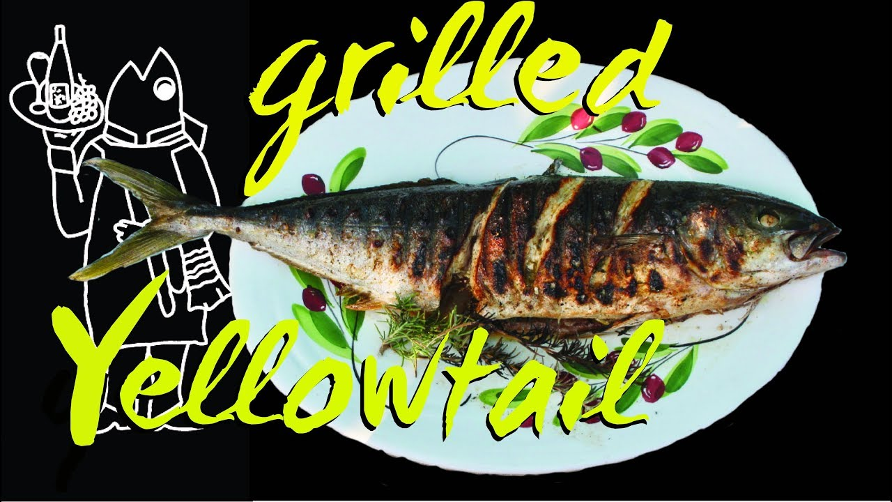 Catch and cook yellowtail recipe whole grilled fish for Catch and cook fish