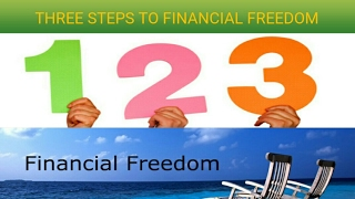 THREE STEPS TO FINANCIAL FREEDOM (in hindi)