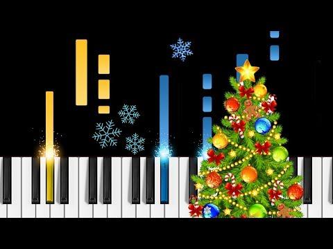 Feliz Navidad - Piano Tutorial - How to play