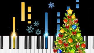 "Feliz Navidad - Piano Tutorial - How to play ""Feliz Navidad"" on piano"
