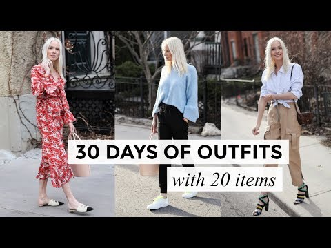 20 ITEMS 30 OUTFITS | Fashion & Style | Liv Judd