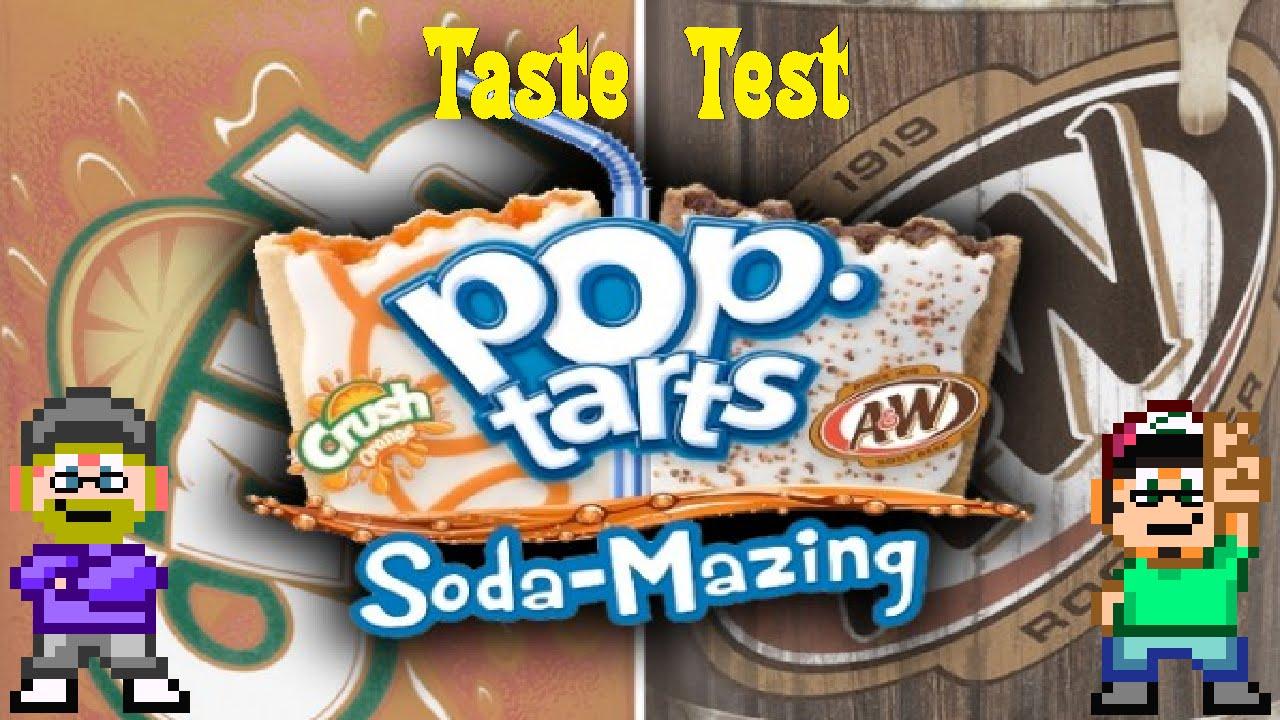 Soda Flavored Pop Tarts