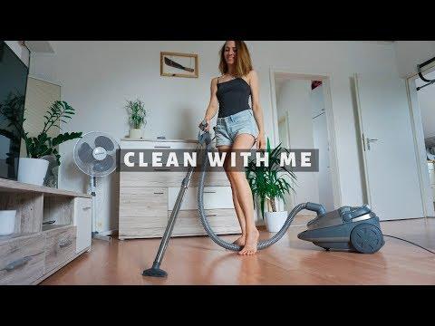 Clean With Me |  Motywacja Do Sprzątanie