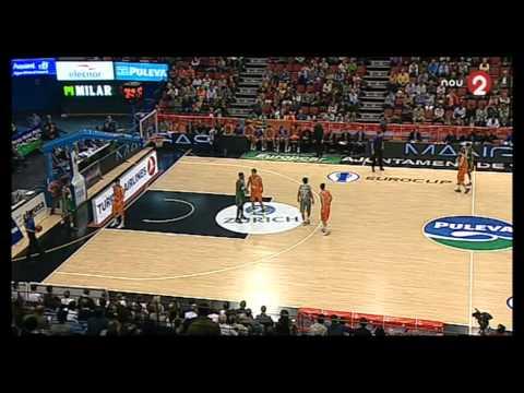 Valencia Basket - Banvit BK (primera parte - 1st half)