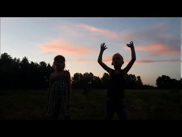 Изображение предпросмотра прочтения – «Ретунский Артём и Воробьёва Любовь» читают произведение «Летний вечер (Уж солнца раскалённый шар…)» Ф.И.Тютчева