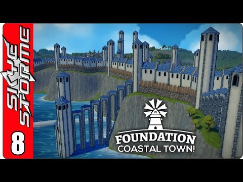 ►VOYAGE INTO EPICNESS!◀ Foundation Coastal Town Ep 8
