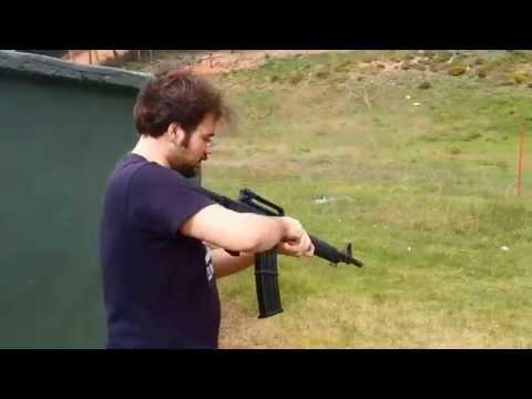 Husan Arms 12 cal. Şarjörlü Yarı Otomatik Av Tüfeği Deneme Atışı 2