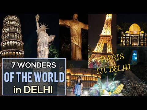 Waste to Wonder Park in Delhi (Timings, Ticket Price, Location?) | 7 Wonders of the World