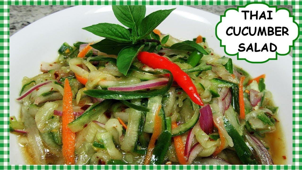 Thai Cucumber Salad Recipe Easy Spicy Lime Cucumber Salad Dressing