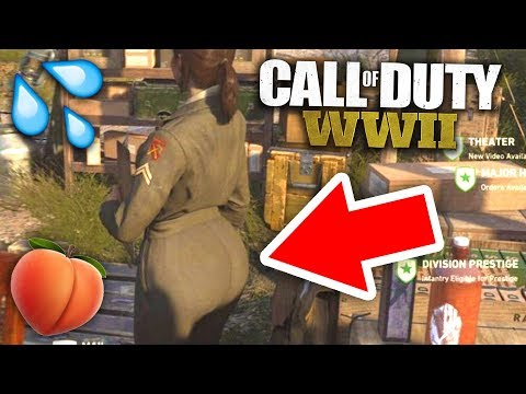 THE COD WW2 QUARTERMASTER IS THICC AF!! (is it real?)