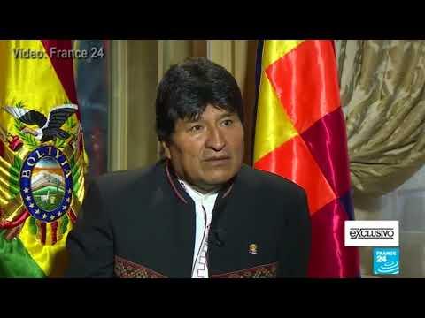 Entrevista de periodista de France 24 pregunta a Evo Morales (fragmento)