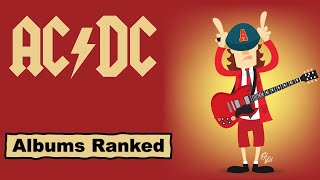 Ac And Dc Albums Ranked Best To Worst