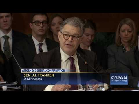 Sen. Al Franken full statement on Attorney General Nominee Sen. Jeff Sessions (C-SPAN)