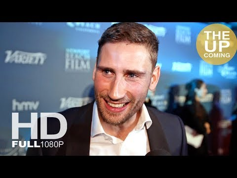 Edward Holcroft  on Kingsman 3 at Newport Beach Film Festival UK Honours