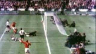 England - West Germany 1966 Goal
