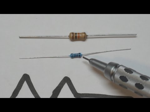Basic Electronic Components - The Resistor