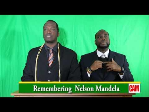 Fake Sign Language Interpreter Nelson Mandela Speech