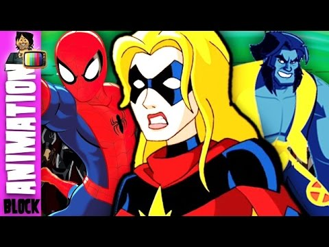Animation Block Cartoon Podcast #10 Avengers Ultron Revolution And NEW X Men Animated Show