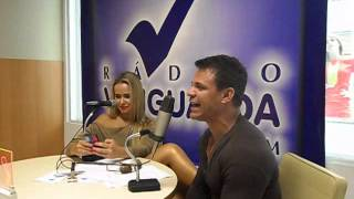 Entrevista com Eduardo Costa e Lola Melnick na Rádio Vanguarda- Sorocaba (por Maurício Babú)