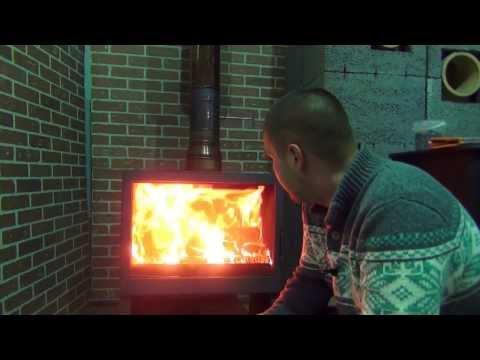Дровяная Печь L 71 (LISEO). Надо Брать! Любителям красивого спектакля огня посвящается...