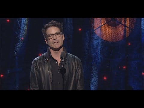 Pat Monahan Inducts Journey into the Rock & Roll Hall of Fame - 2017