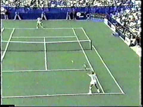 Gabriela Sabatini v Martina Navratilova US Open 1987 pt1