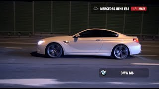 Mercedes E63 AMG 4Matic (NEW) vs BMW M6 F12