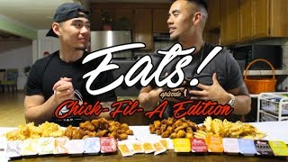 CHICK-FIL-A 50 PIECE CHICKEN NUGGET CHALLENGE!!! (FEAT. RAY LAQUINDANUM)